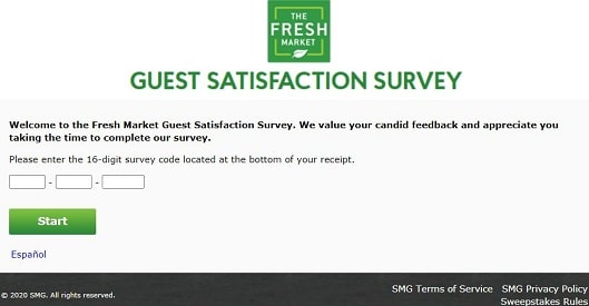 thefreshmarket-survey-page